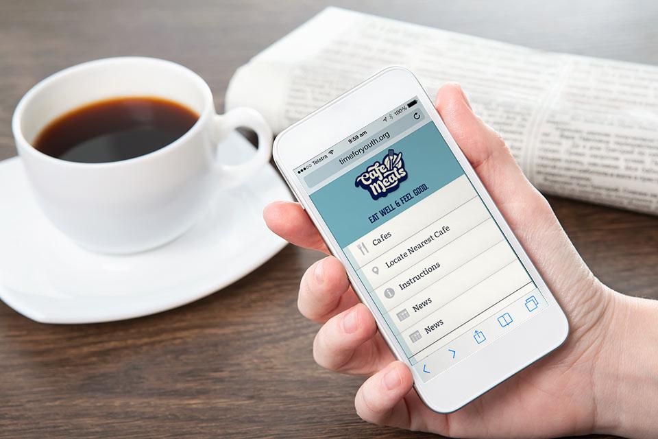 Cafe-Meals-Web-App