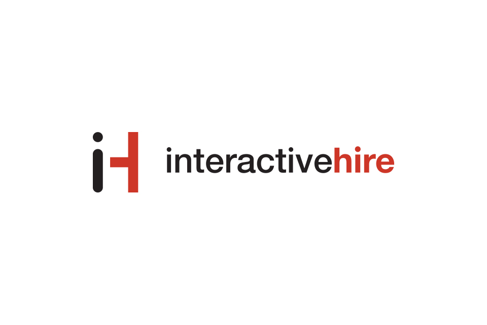 Branding Interactive Hire Logo Design