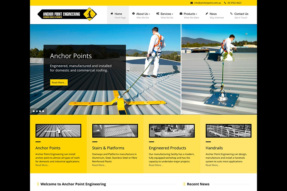 Anchor-Point-Engineering-website