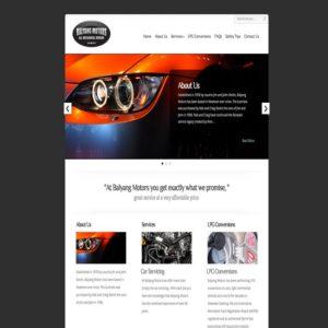 Balyang-Motors-website