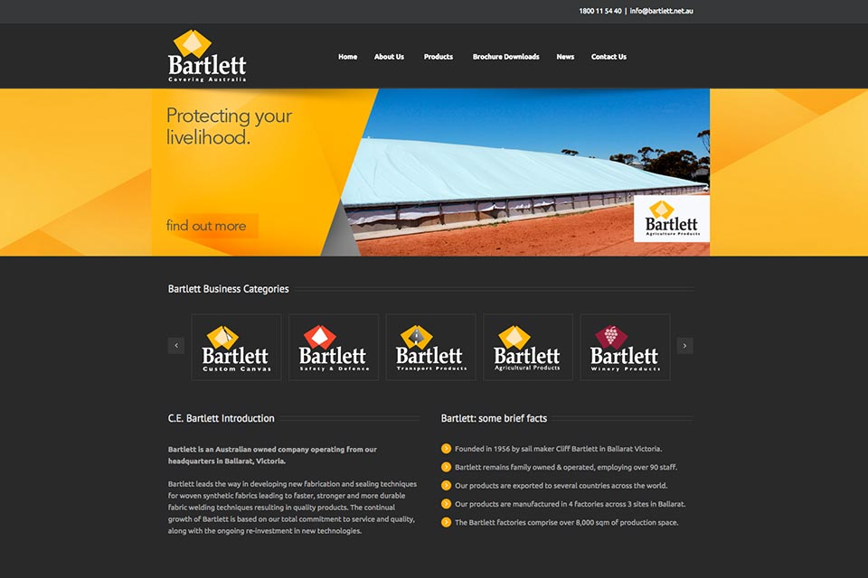 Bartlett-Website