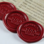 Centenary-pack-wax-stamp