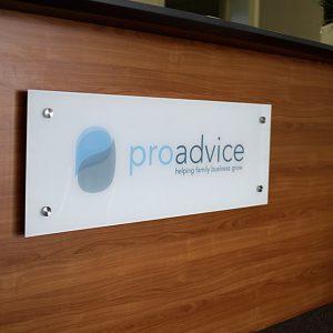 ProAdvice-Reception-Signage