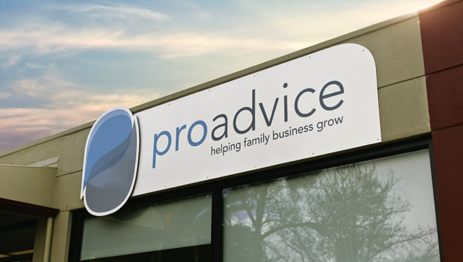 Proadvice-signage