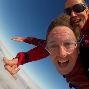 Rod-skydiving