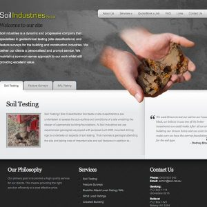 Soil-Industries-website