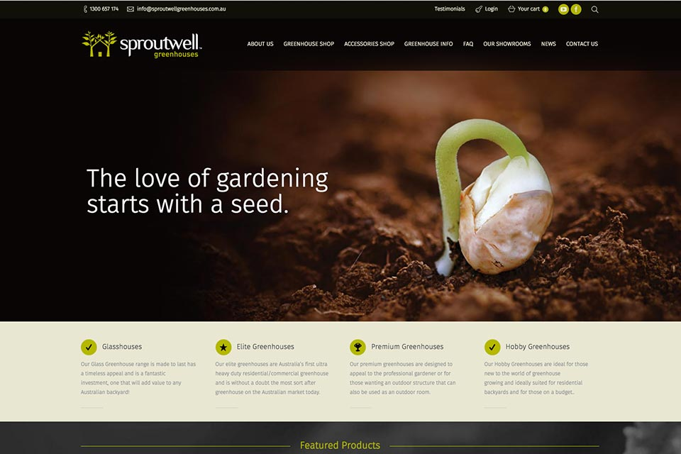 Sproutwell-website