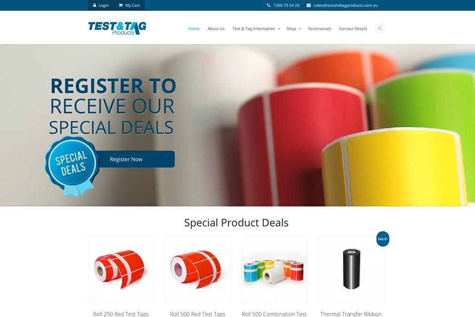 Test-&-Tag-Products-website