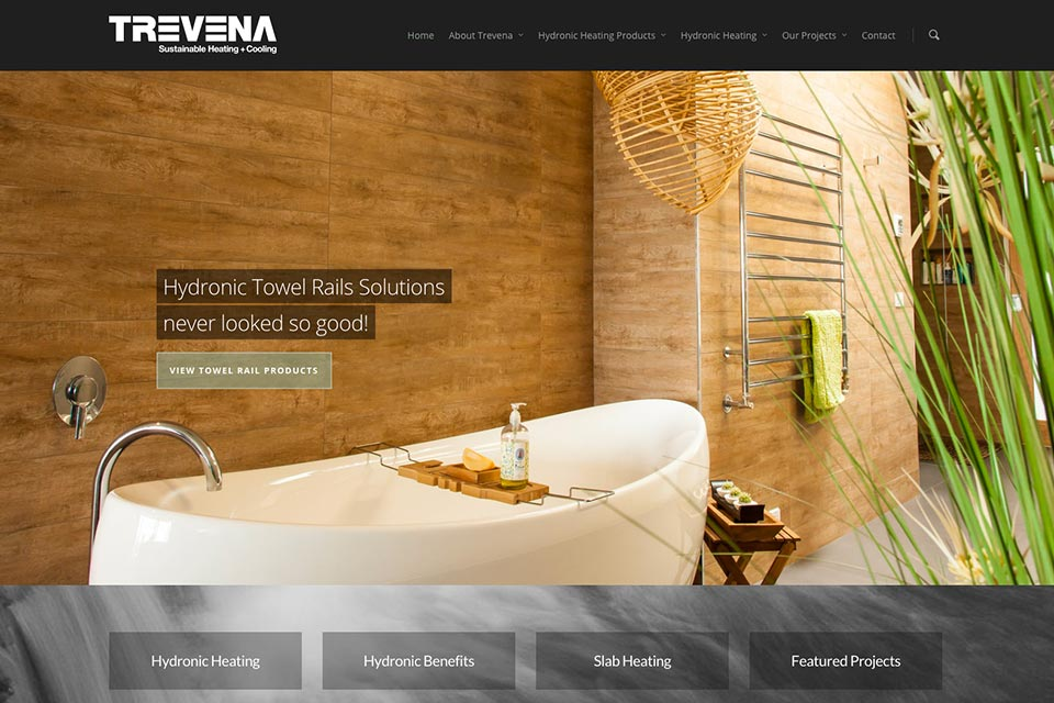 Trevena-Website
