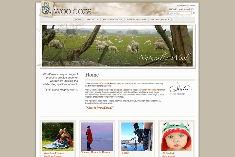 Wooldoza-website