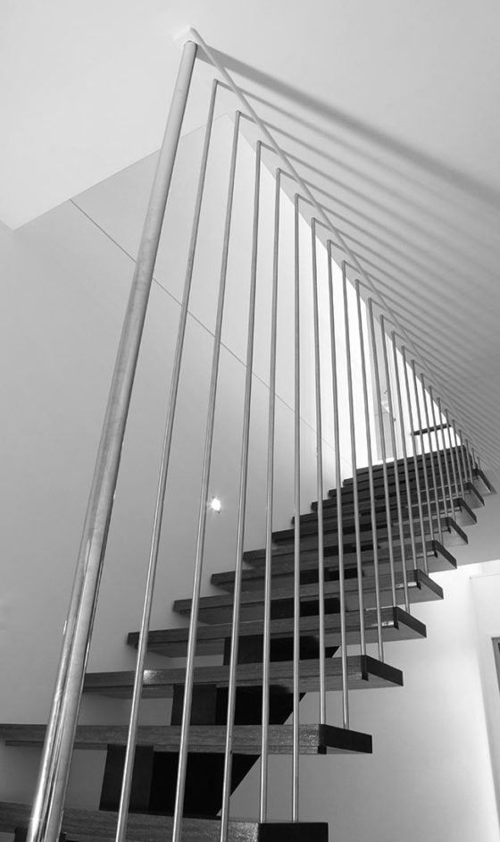 staircase-up-close-B&W
