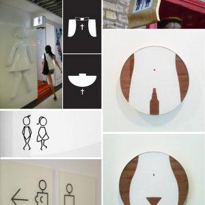Toilet-signs--brown-ink-Blog