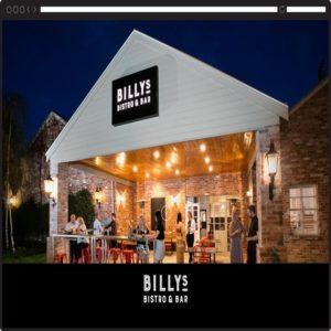 Billy's-Bistro-Website