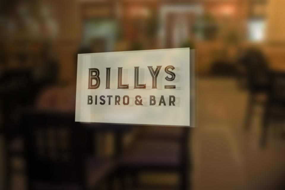 Billys-Bistro-window-sign