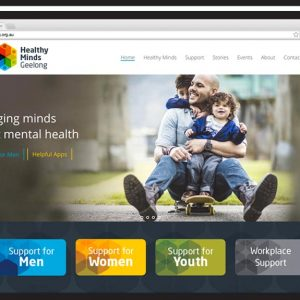 healthy-minds-geelong-website design Geelong