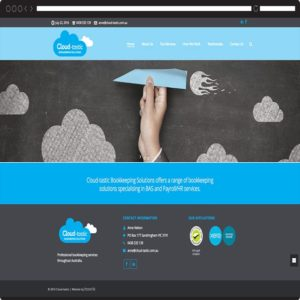 Cloud-tastic-Website Design