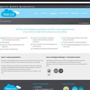 Cloud-tastic-Web Design