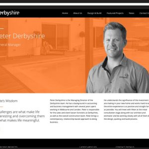 Derbyshire Home Website Design