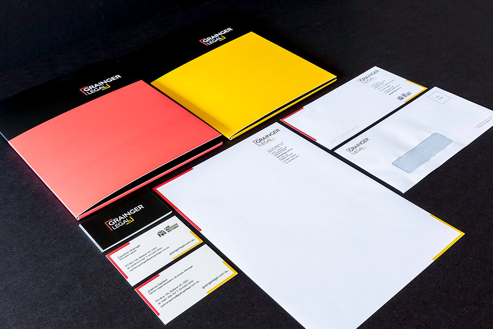 Branding Grainger Legal Stationery Group