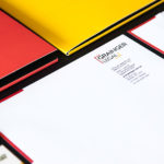 Branding Grainger Legal Stationery Closeup
