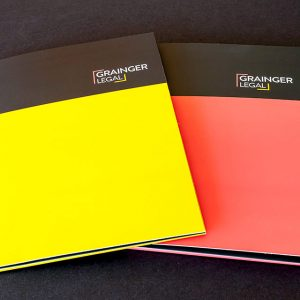 Branding Grainger Legal Stationery