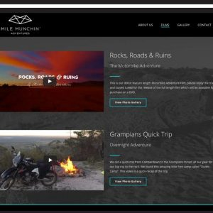 Mile-Munchin-Website-Design Geelong