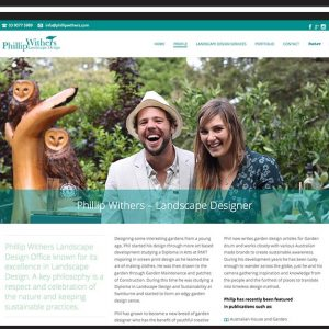 Phillip Withers Website Design Geelong