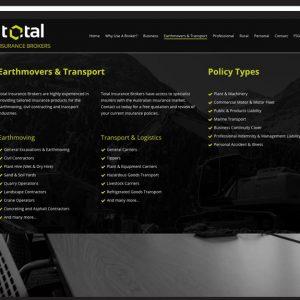Total-Insurance-Brokers Website Design Ballarat