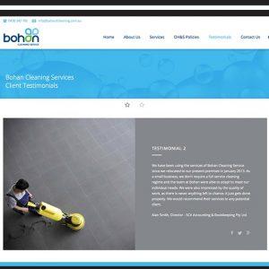 bohan-cleaning-Website Design