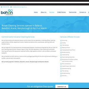 bohan-cleaning-Web Design
