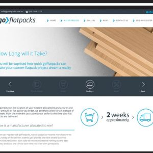 GoFlatpacks Website Design Torquay