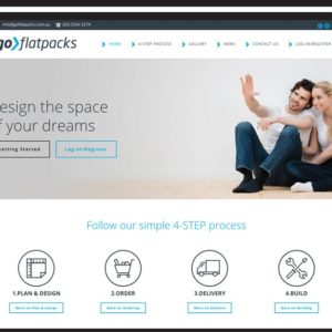 GoFlatpacks Web Design Torquay