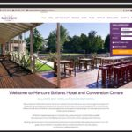 mercure-ballarat-web design