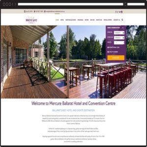 mercure-ballarat-web design