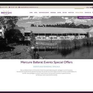 mercure-ballarat-website design Ballarat