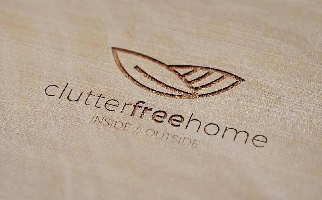Clutter Free Home Branding - Brown Ink Geelong, Ballarat